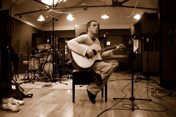 Tracking Acoustic Guitar at Mark Angelos